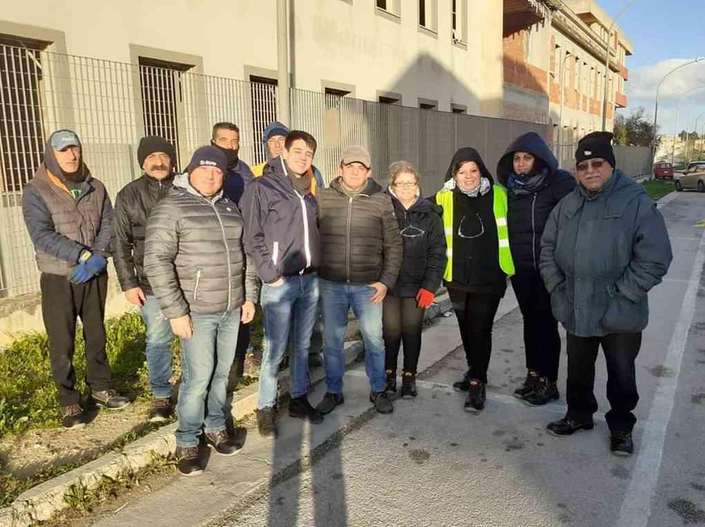 Immagine articolo: S. Margherita di Belice, al lavoro 40 disoccupati in 3 cantieri scuola