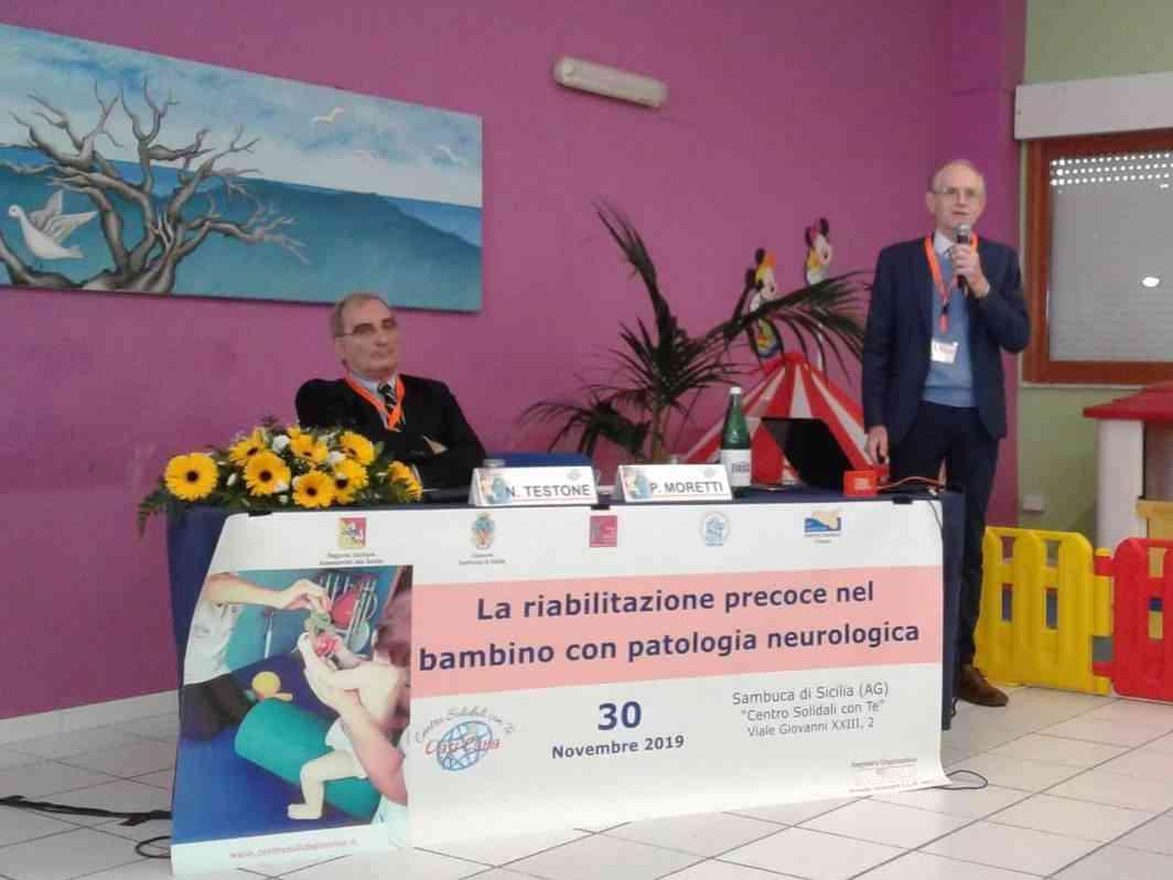 Immagine articolo: Sambuca, interessante convegno sulla riabilitazione precoce nel bambino con patologia neurologica