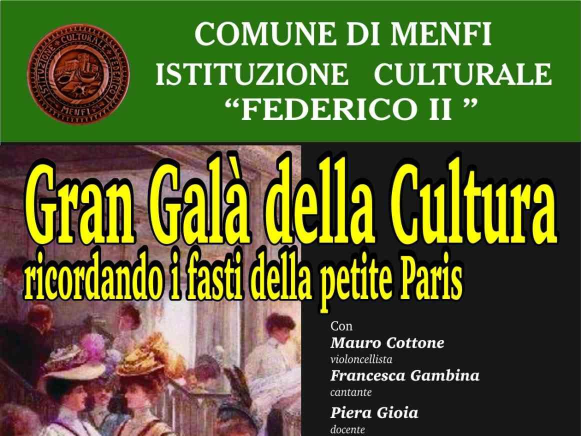 """Immagine articolo: Menfi, domenica appuntamento con il """"Gran Galà della Cultura"""" presso la Biblioteca Comunale"""