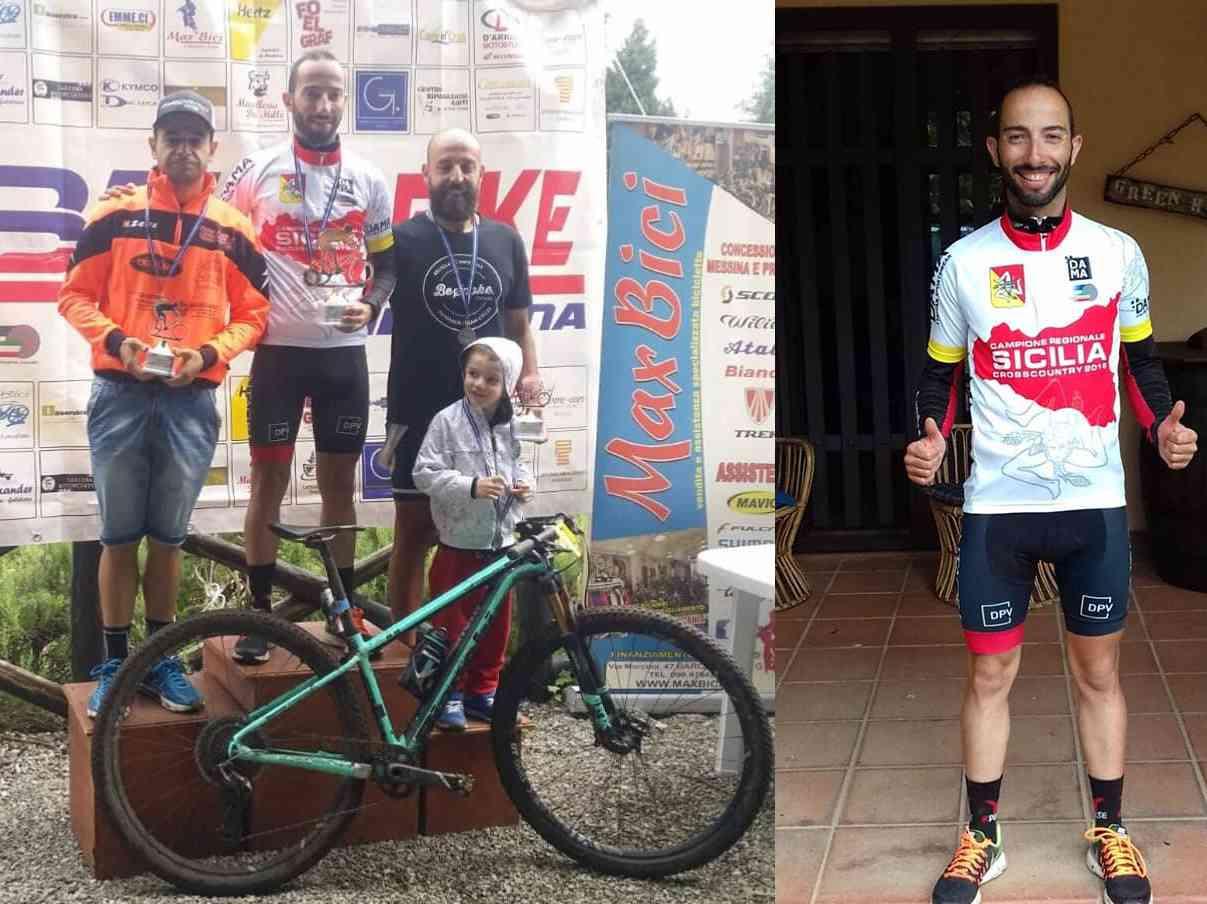 Immagine articolo: Ciclismo. Il menfitano Giuseppe Scirica è campione regionale F.C.I.