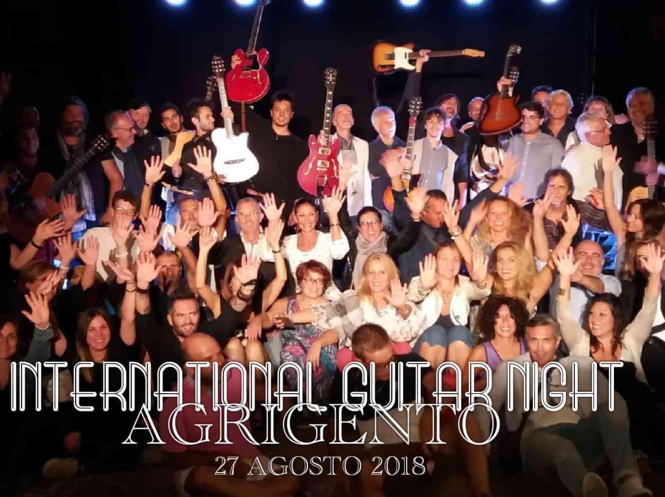 """Immagine articolo: """"International Guitar Night 2018"""" oltre seimila richieste di prenotazione. Domani sera ai piedi del Tempio di Giunone ad Agrigento"""