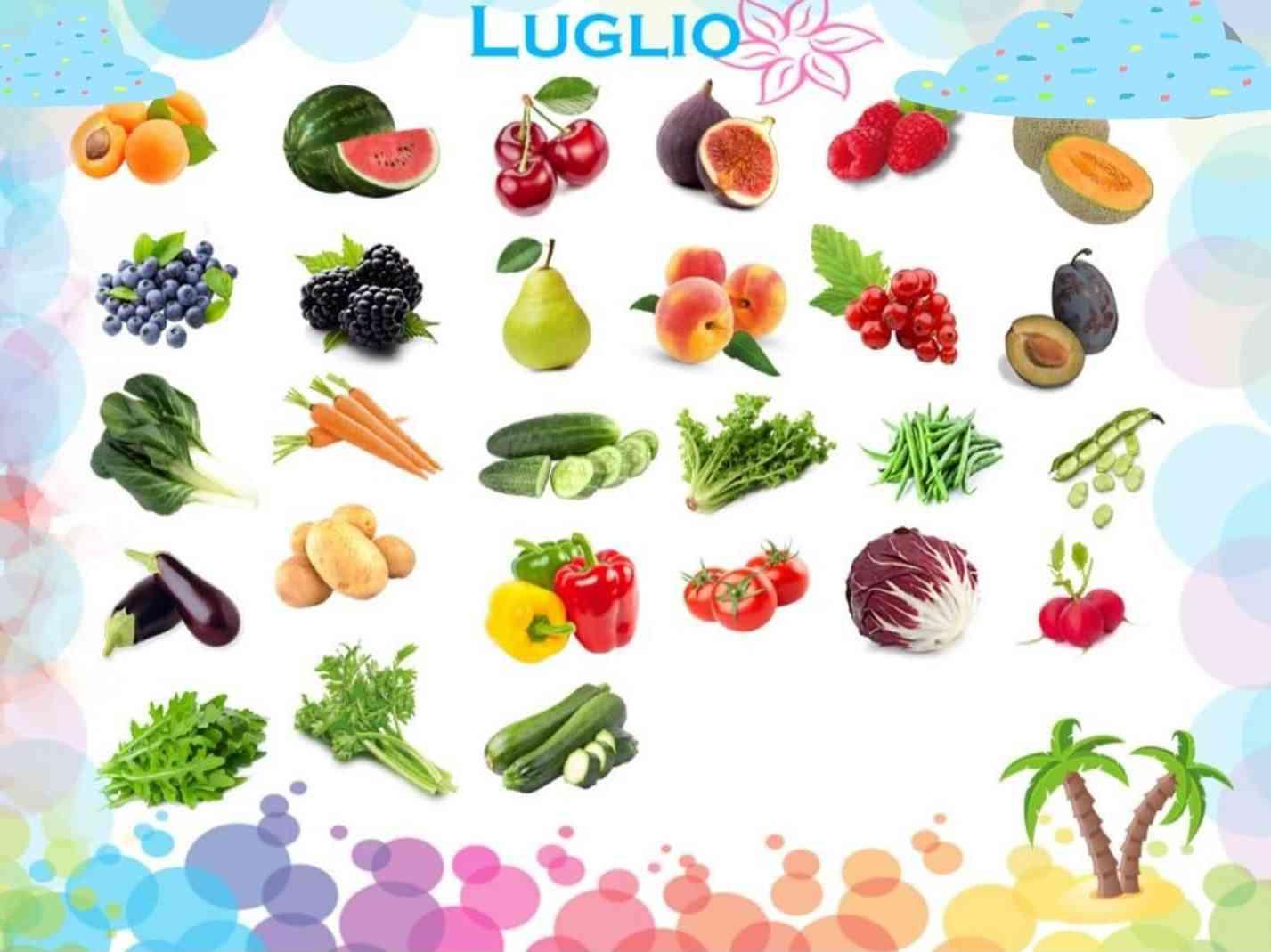 Immagine articolo: L'importanza della frutta e verdura nel periodo estivo. Tra sali minerali e vitamine