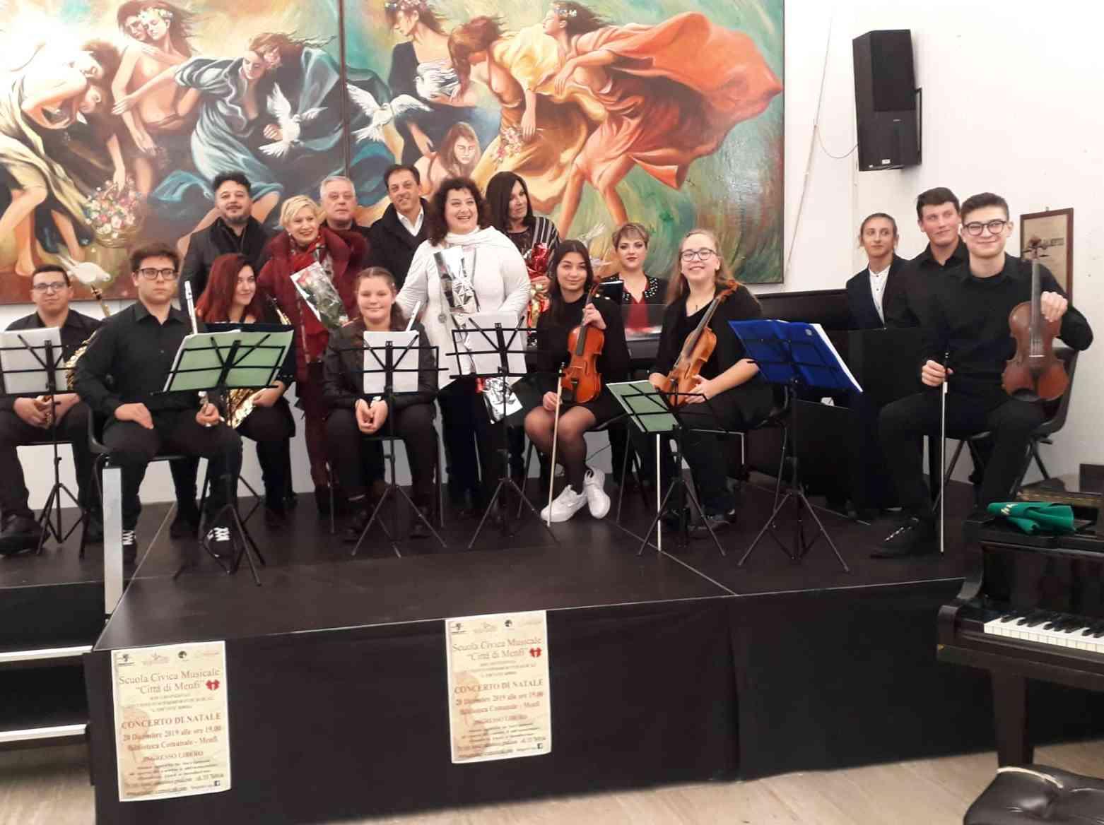 Immagine articolo: Menfi,  si è svolto venerdì il saggio-concerto della Scuola Civica Musicale 'Città di Menfi'