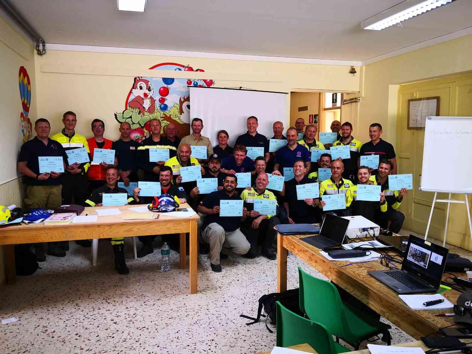 Immagine articolo: Poggioreale, grande partecipazione al Corso Internazionale organizzato dal Corpo dei Vigili del Fuoco