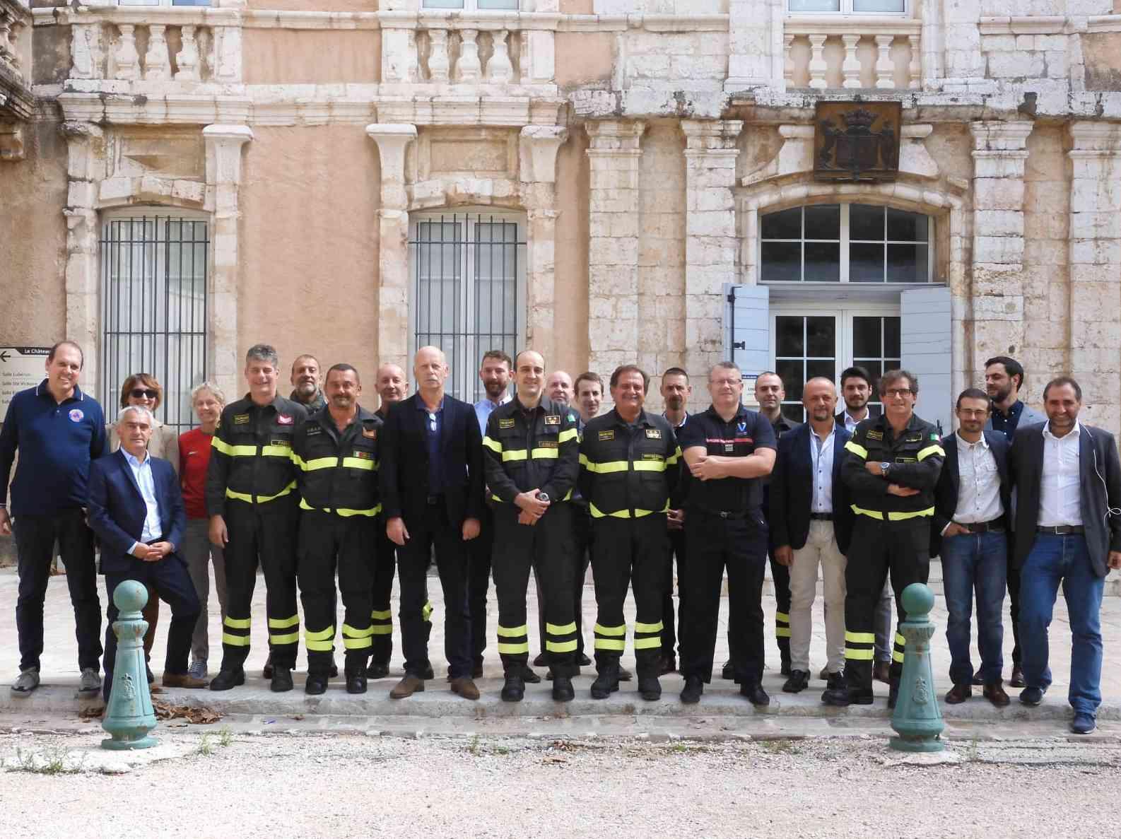 Immagine articolo: Aix-en Provence in Francia, concluso workshop internazionale sulle tematiche relative al soccorso alle popolazioni colpite da grandi catastrofi