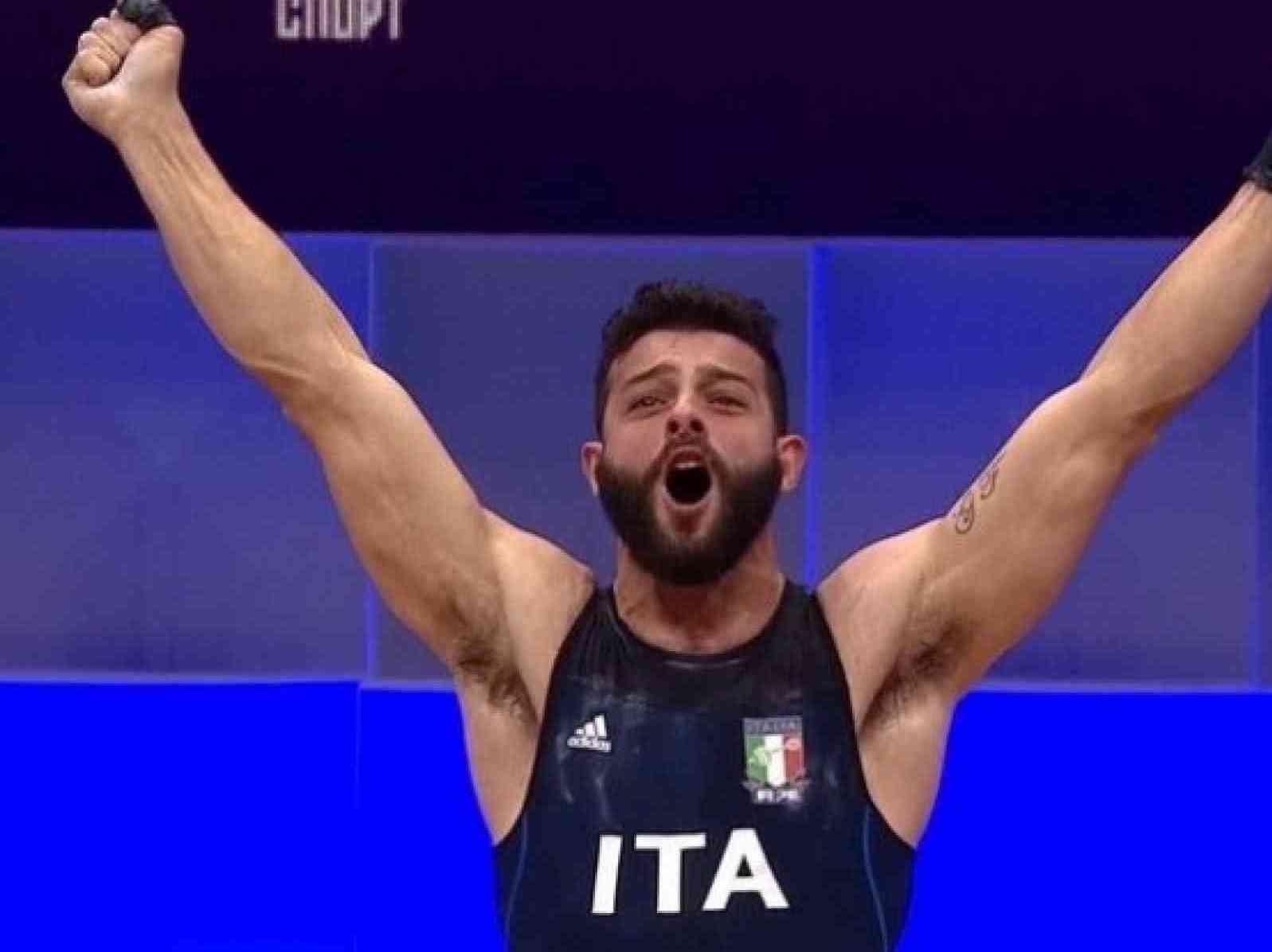 Immagine articolo: Medaglia di bronzo per Antonino Pizzolato nel sollevamento pesi