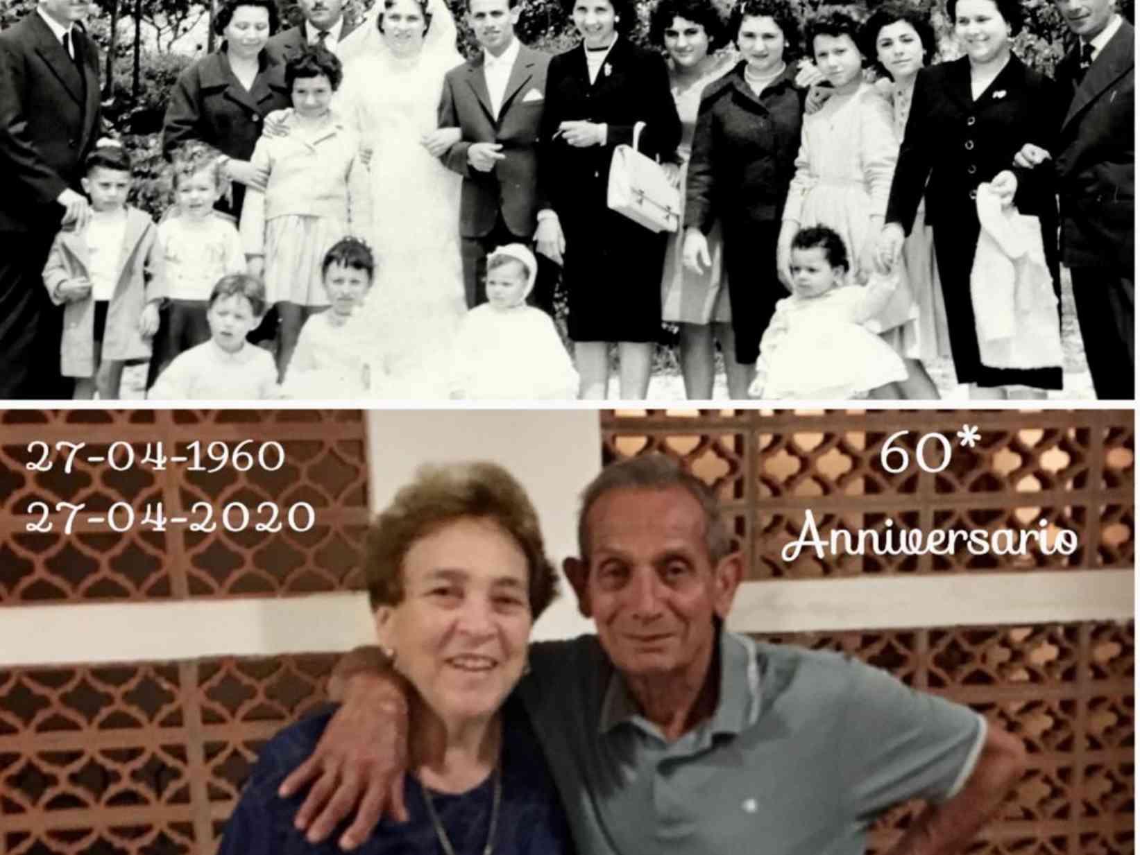 """Immagine articolo: Menfi, un amore lungo sessant'anni. Nozze di diamante per i coniugi Cutrano: """"L'amore e il rispetto alla base del nostro matrimonio"""""""