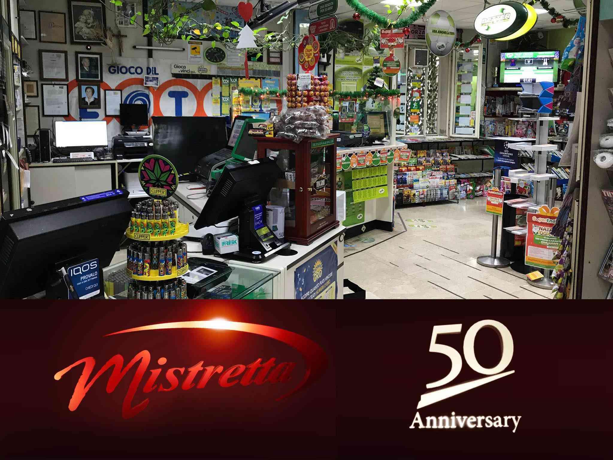 """Immagine articolo: Tra tradizione e innovazione, la tabaccheria """"Mistretta"""" compie 50 anni. Una passione mai finita"""