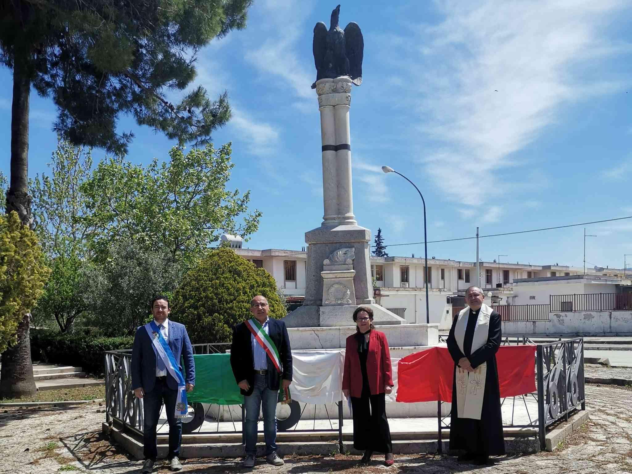 Immagine articolo: 75° anniversario della Festa della Liberazione: Poggioreale e Salaparuta hanno aderito all'iniziativa promossa dal comune di Maletto