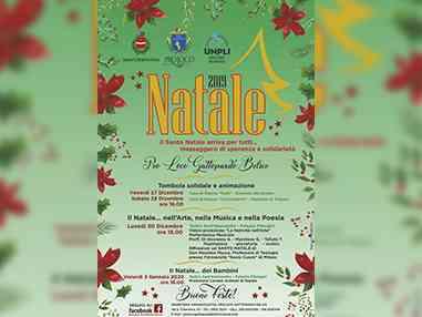 Immagine articolo: S. Margherita di B., la Pro Loco Gattopardo in azione per il Natale 2019. Ecco il programma: