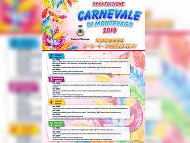 Immagine articolo: Montevago, 31esima edizione del Carnevale. Ecco il programma