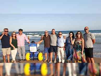 Immagine articolo: Disabilità: a Porto Palo mare più accessibile grazie al Rotary Club