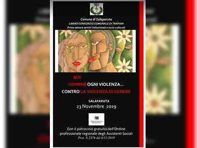 Immagine articolo: Salaparuta,  il 23 Novembre giornata dedicata al tema della violazione dei diritti umani e dei diritti delle donne con tante attività in programma
