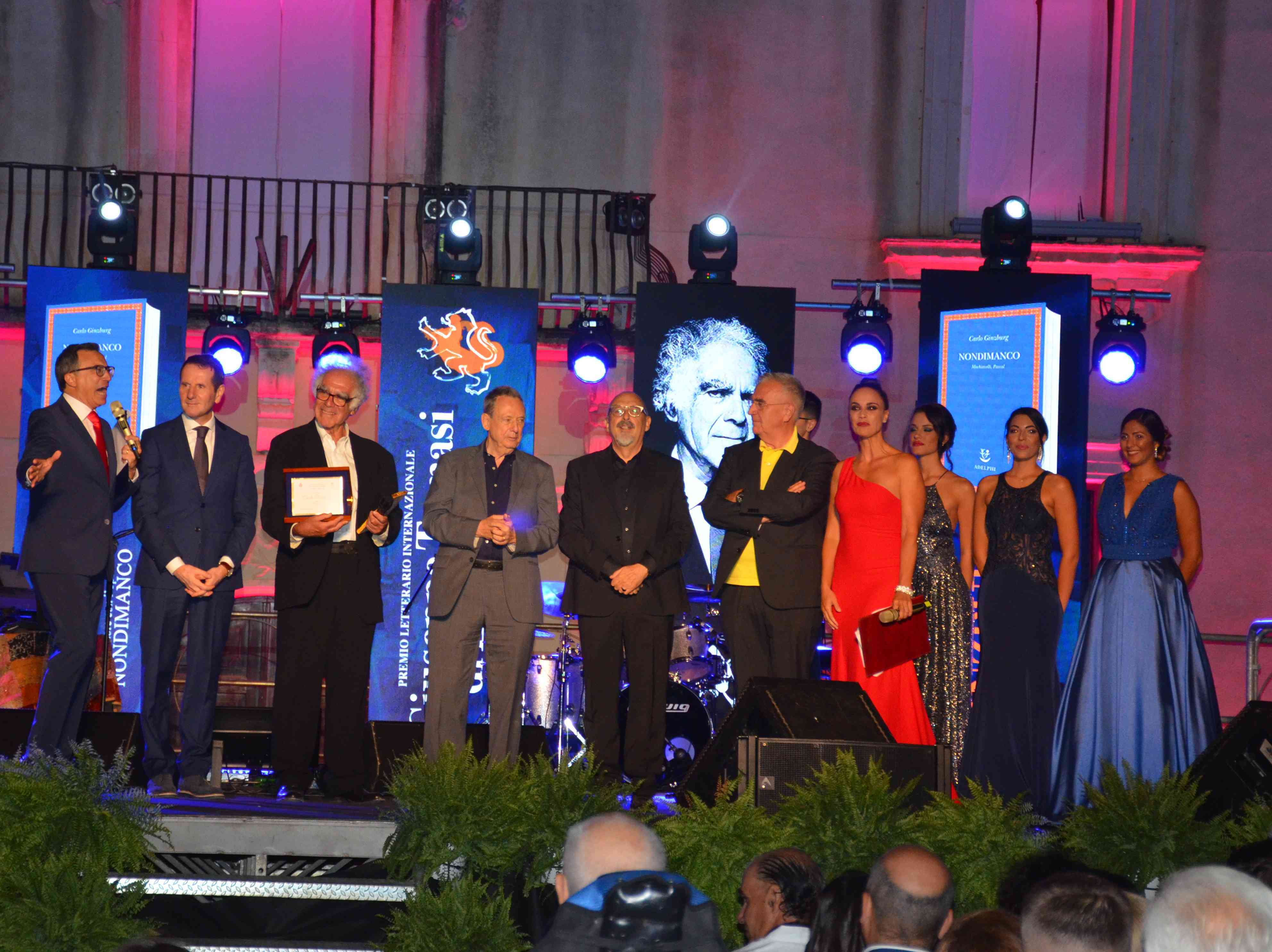 Immagine articolo: S. Margherita di Belìce, successo per la cerimonia di consegna del Premio Letterario Internazionale Giuseppe Tomasi di Lampedusa