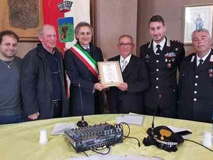 Immagine articolo: Montevago, conferita al Brigadiere Capo Vincenzo Licari la cittadinanza onoraria