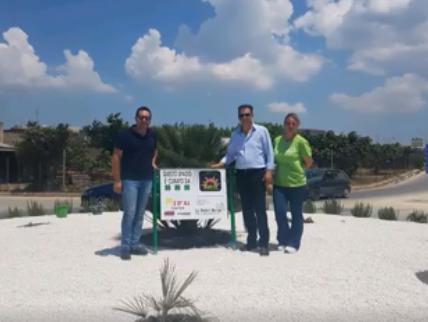 Immagine articolo: Menfi, le attività commerciali prendono in gestione il verde pubblico. La soddisfazione del Vice sindaco Ludovico Viviani