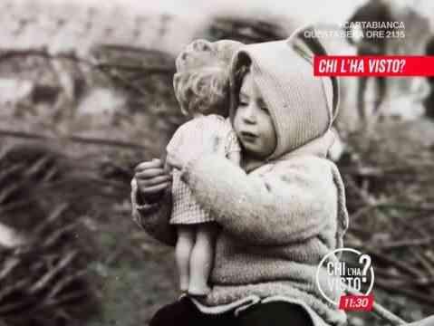 """Immagine articolo: Chi è la bambina ritratta in questa foto? A """"Chi l'ha visto?"""" una storia che riporta nella memoria il tragico sisma del 15 gennaio 1968"""