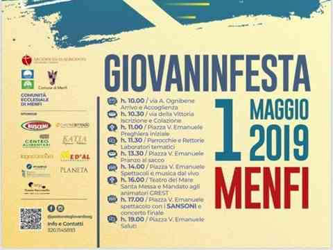 Immagine articolo: Menfi, domani il via al Giovaninfesta 2019. Ecco il programma