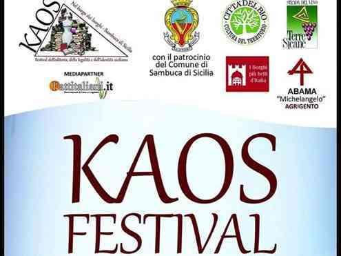 Immagine articolo: Al via il Sicilia Kaos Festival a Sambuca, ecco il programma