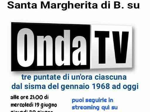 Immagine articolo: Onda Tv -TUTTO IN: Santa Margherita di Belìce, cinquant'anni dal terremoto ad oggi