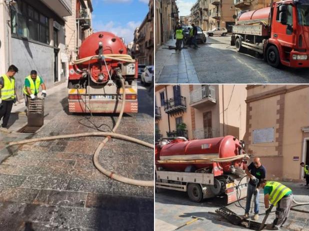 Immagine articolo: Menfi : al via la pulizia e messa in sicurezza delle caditoie del centro urbano