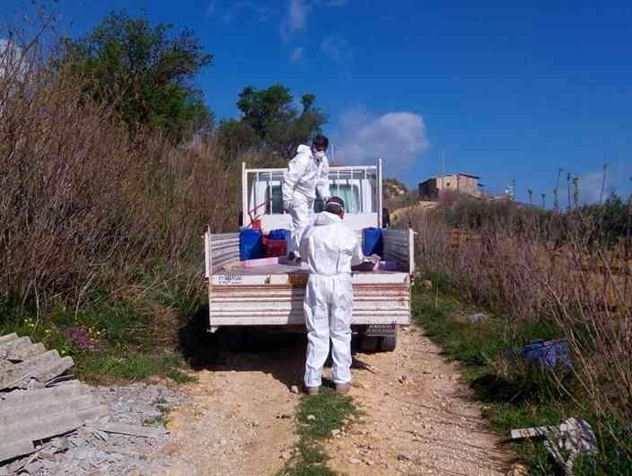 Immagine articolo: S.Margherita, lavori di bonifica amianto abbandonato in aree comunali