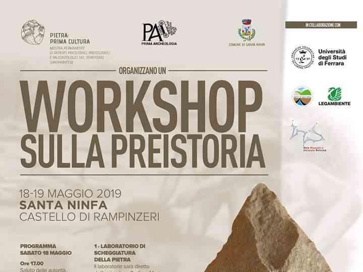 Immagine articolo: Castello di Rampinzeri, sabato e domenica Workshop sulla preistoria. Tanti i laboratori