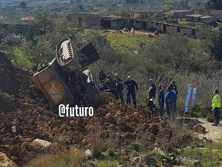Immagine articolo: Santa Margherita Belice, grave incidente sul lavoro. Uomo perde la vita