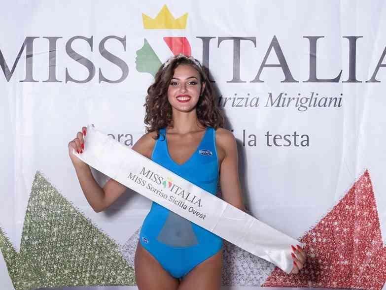 Immagine articolo: La bella margheritese Anastasia Pellegrino vola a Jesolo per le pre finali di Miss Italia. Vince la fascia di Miss Sorriso Sicilia Ovest 2019