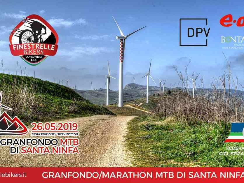 Immagine articolo: Domenica 26 Maggio la sesta edizione della Granfondo MTB di Santa Ninfa. Tante le novità