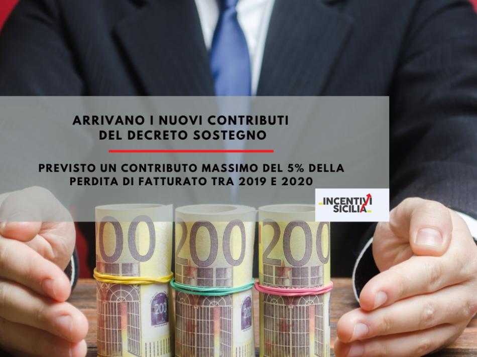 Immagine articolo: Contributo fondo perduto previsto dal Decreto sostegni: contributi dall'1,67 al 5% della perdita di fatturato