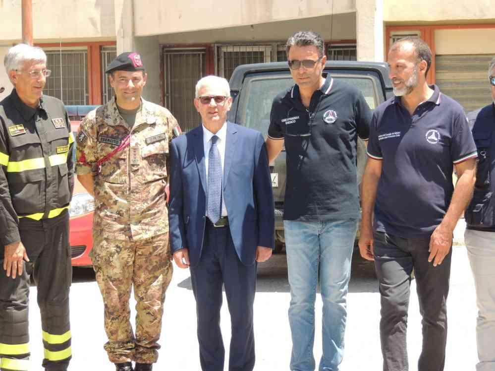 Immagine articolo: Poggioreale, conclusa l'esercitazione internazionale della protezione Civile