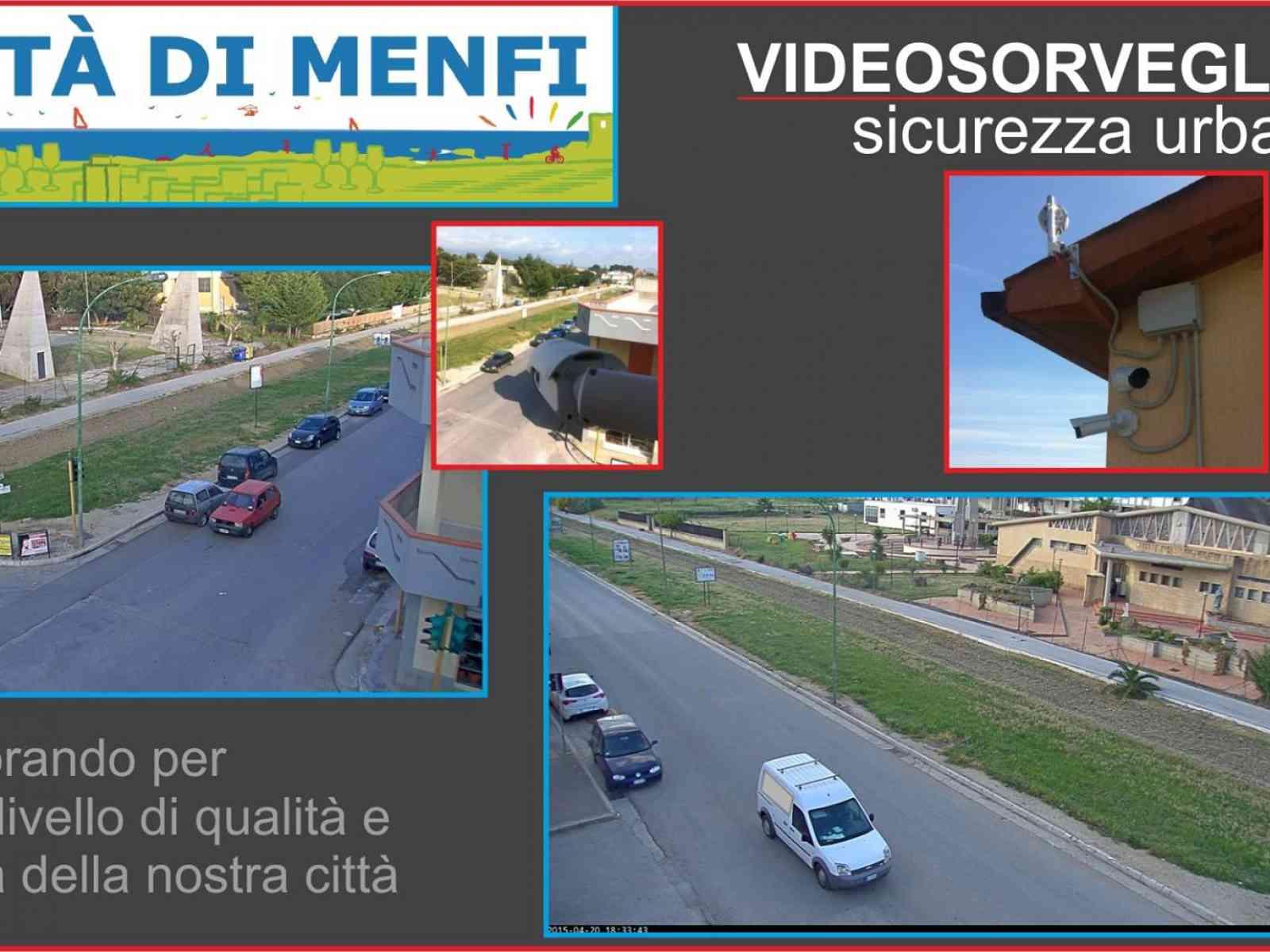 Menfi. Maggiore sicurezza in città, installata la video-sorveglianza