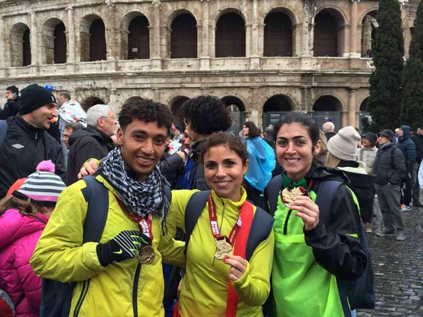 Polisportiva Menfi '95: Mamma come corre Idrissi, 38° alla Maratona di Roma