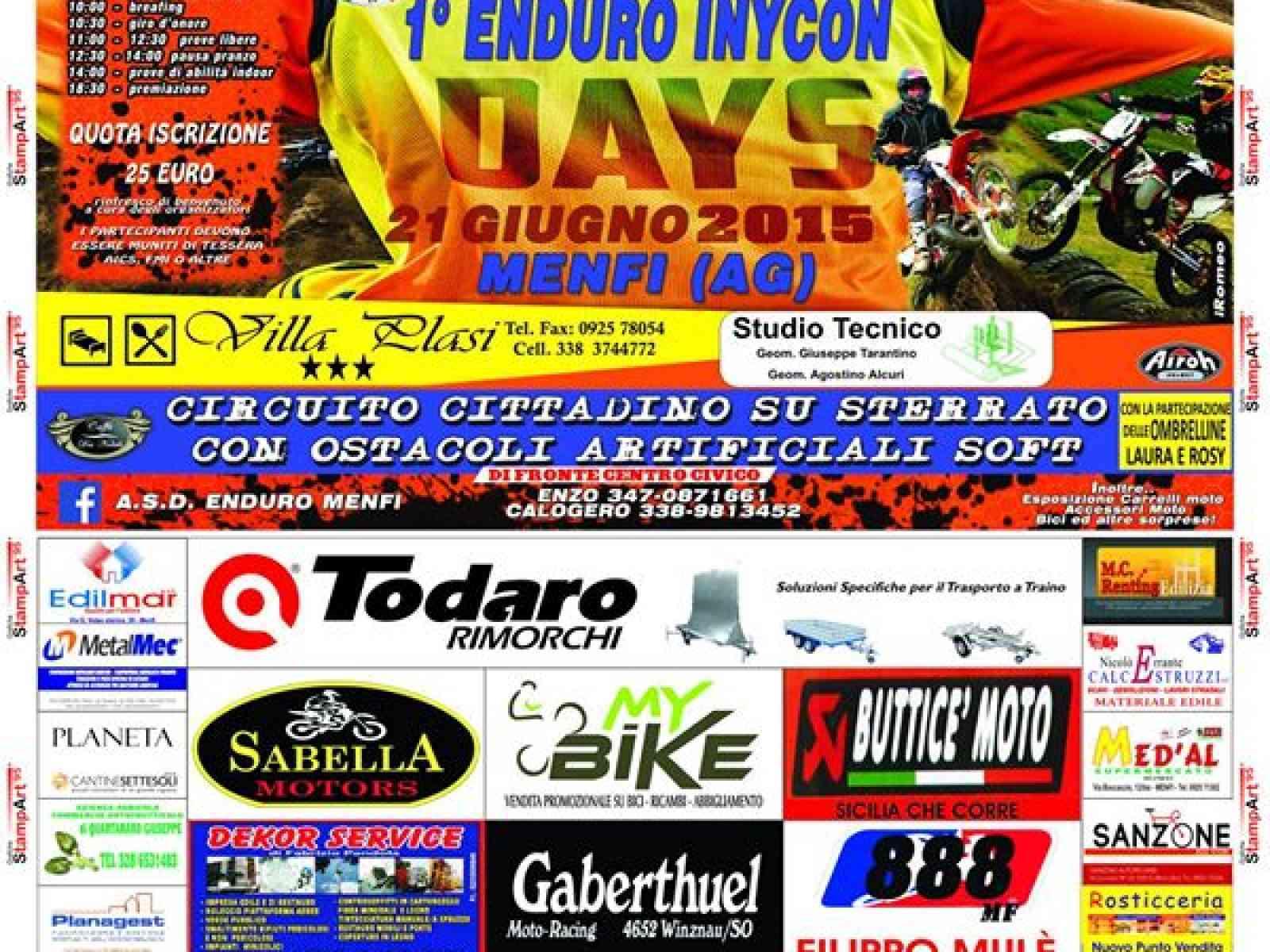 Un circuito Enduro in città! Domani il 1° Enduro day a Menfi