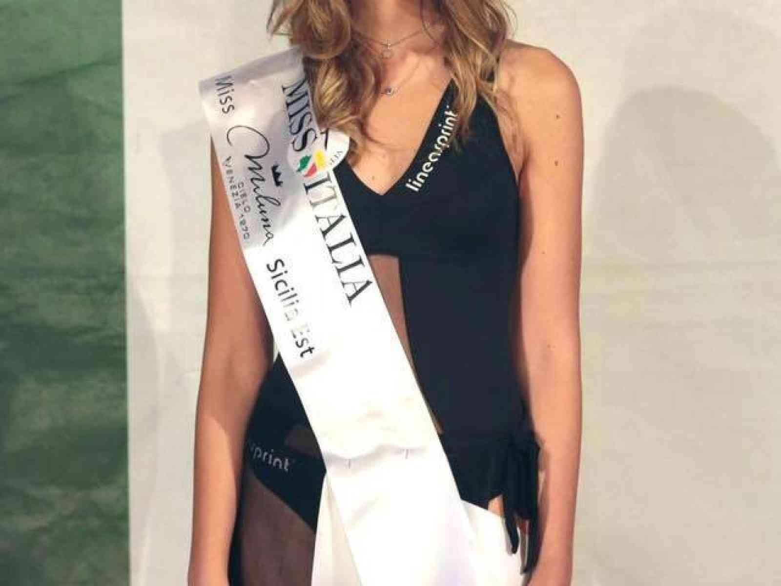 Un'altra Miss Italia per Menfi? Figlia di genitori menfitani, Lorena Grisafi tra le 33 finaliste