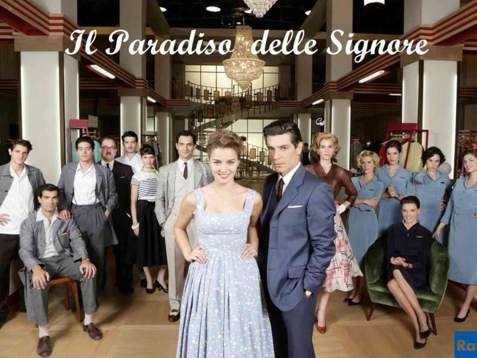 """Da martedì Giusy Buscemi protagonista della serie """"Il Paradiso delle Signore"""", in onda su RAI 1"""