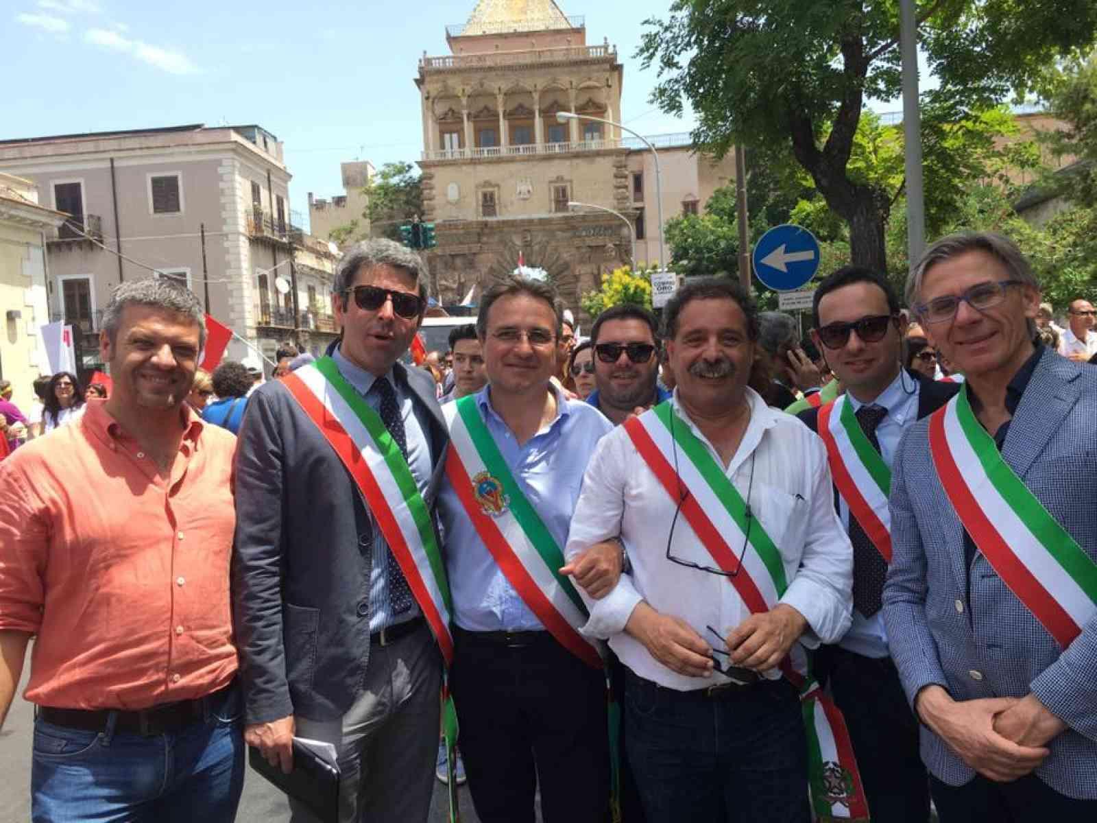 I sindaci del Belìce oggi a Palermo a sostegno dei 20mila precari
