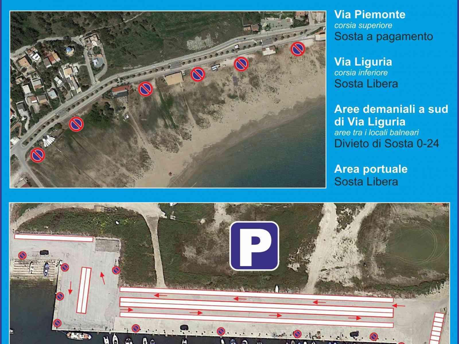 Estate 2016 a Porto Palo, divieto di sosta tra i locali estivi