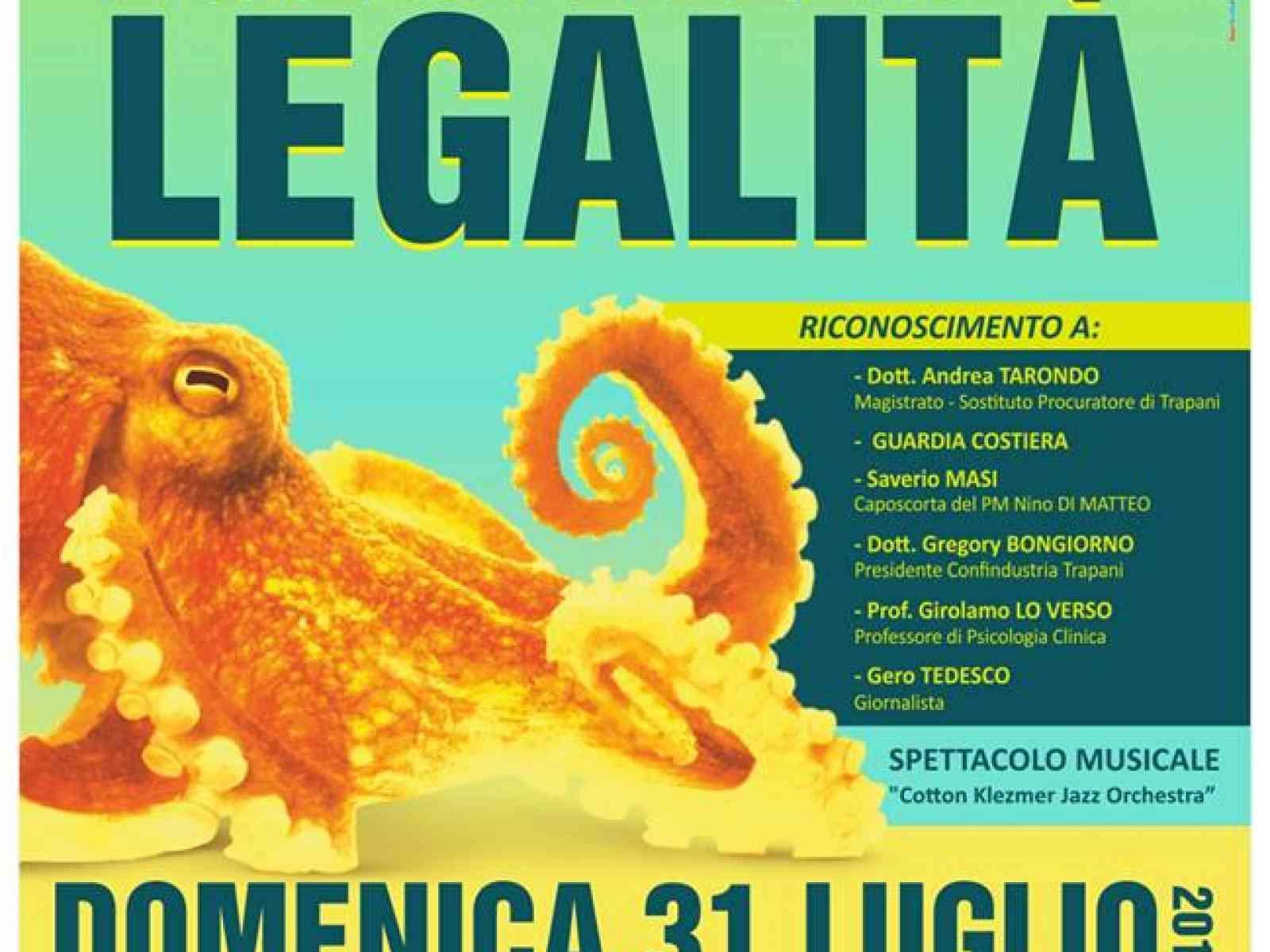 Santa Margherita. Antimafia: il 31 luglio la 6a edizione dell'Alba della Legalità