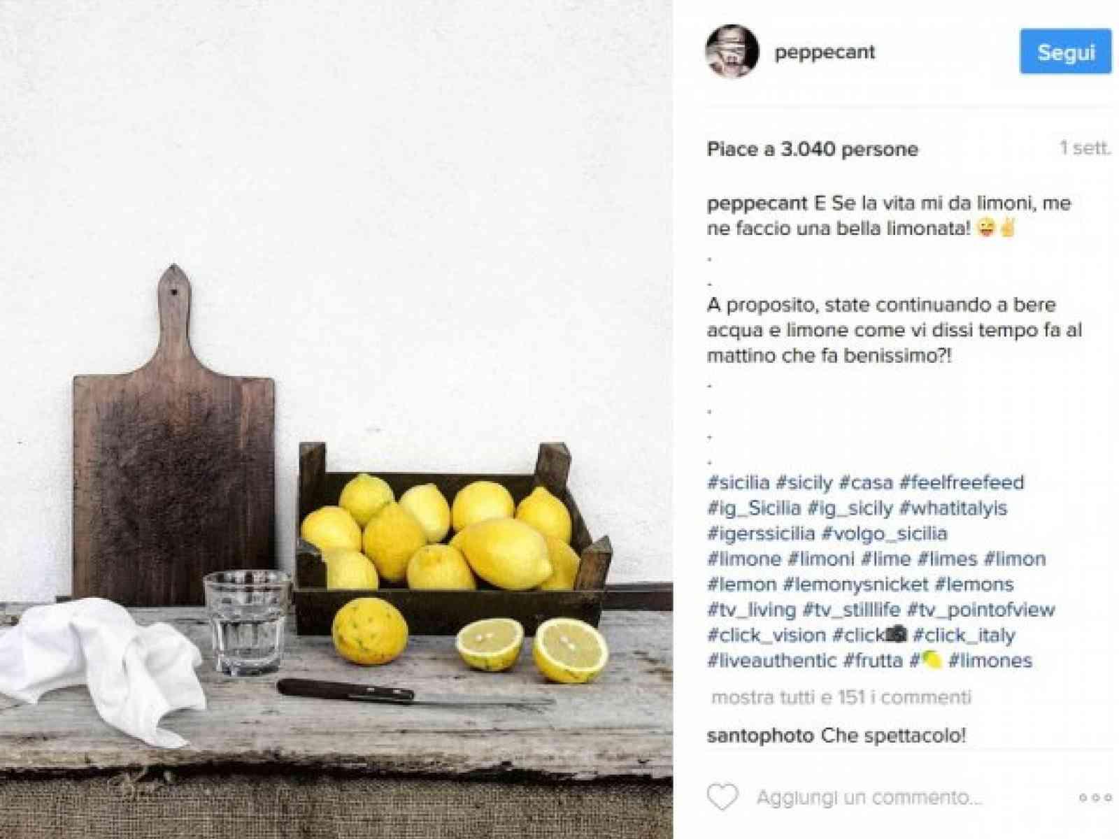 Instagramer più seguiti d'Italia, c'è anche un menfitano: @peppecant