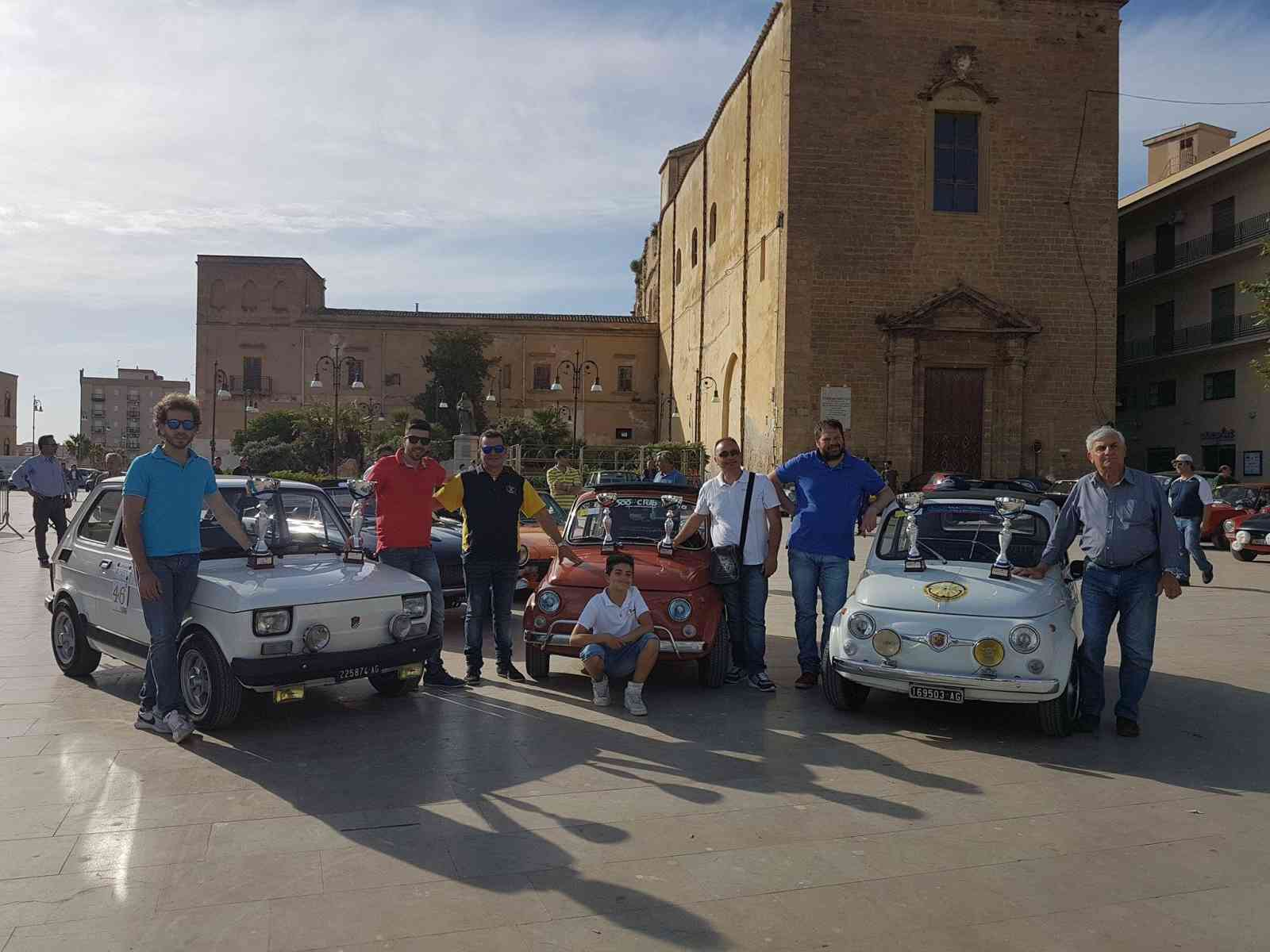"""Auto. 6a Coppa dei Sicani, buon piazzamento per i menfitani della categoria """"bicilindriche"""""""