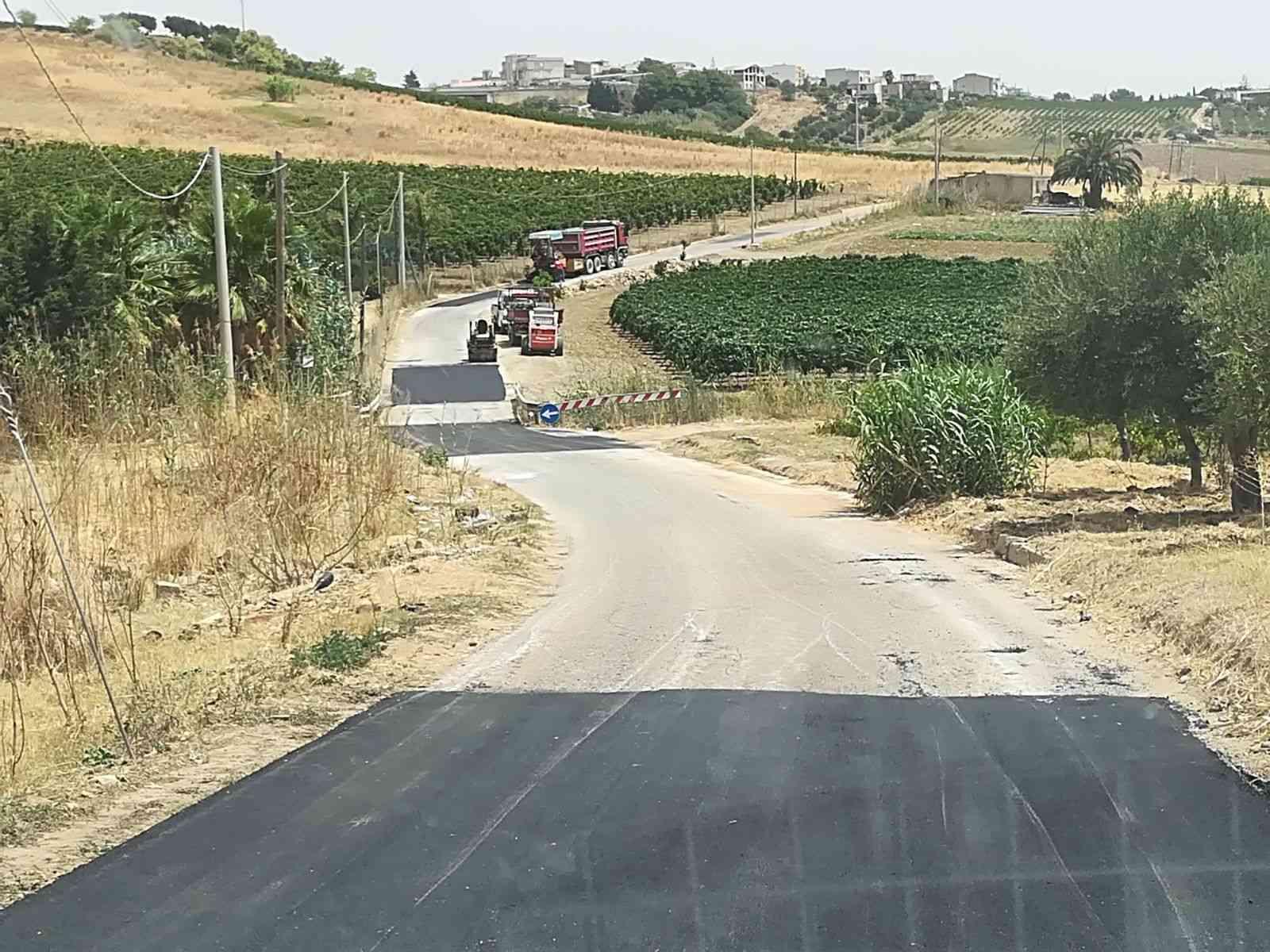 Strade Rurali, il PSR finanzia più di 1 milione per tre progetti a Menfi