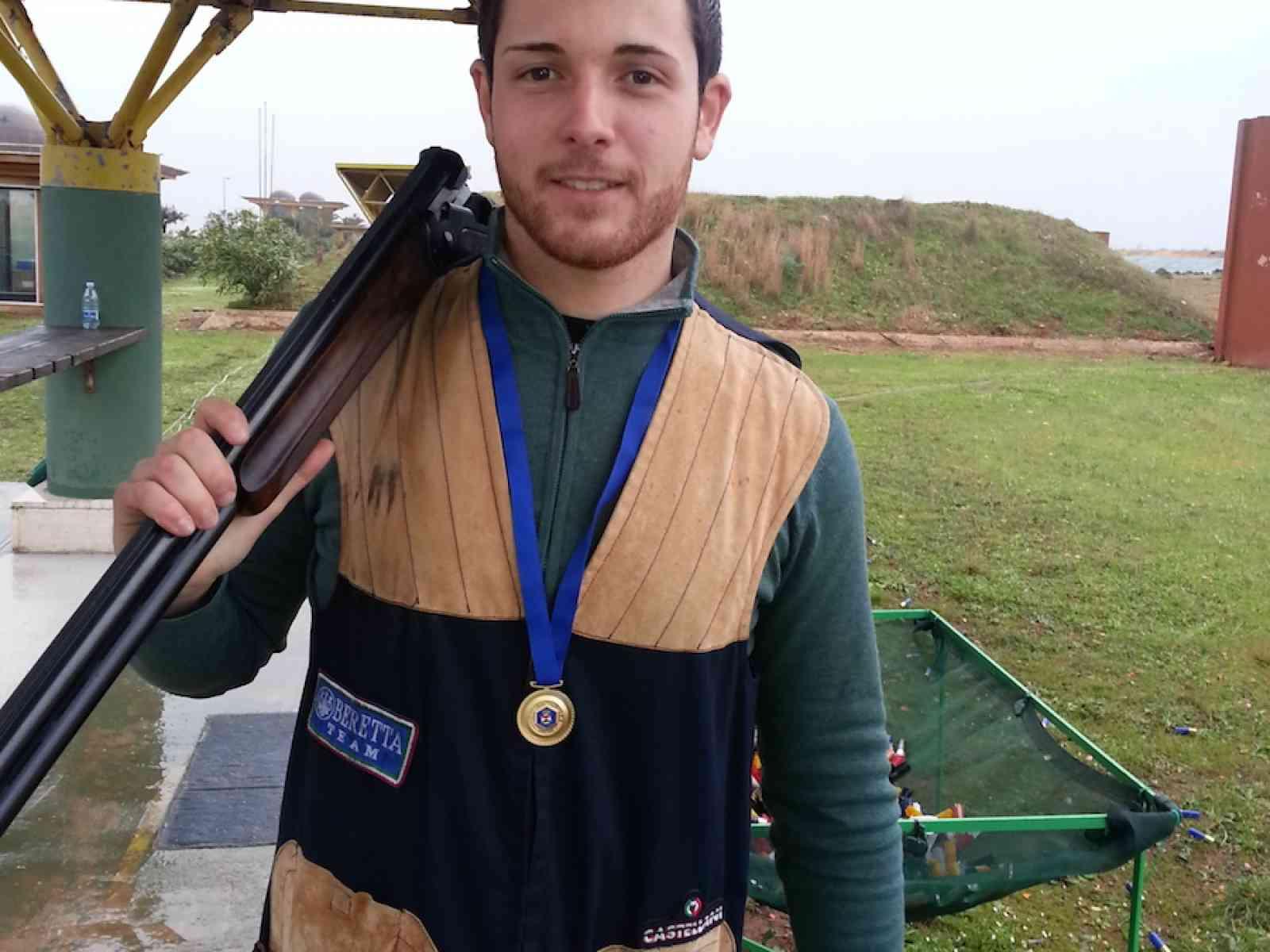 Calogero La Sala: un menfitano in finale al campionato nazionale di tiro a volo