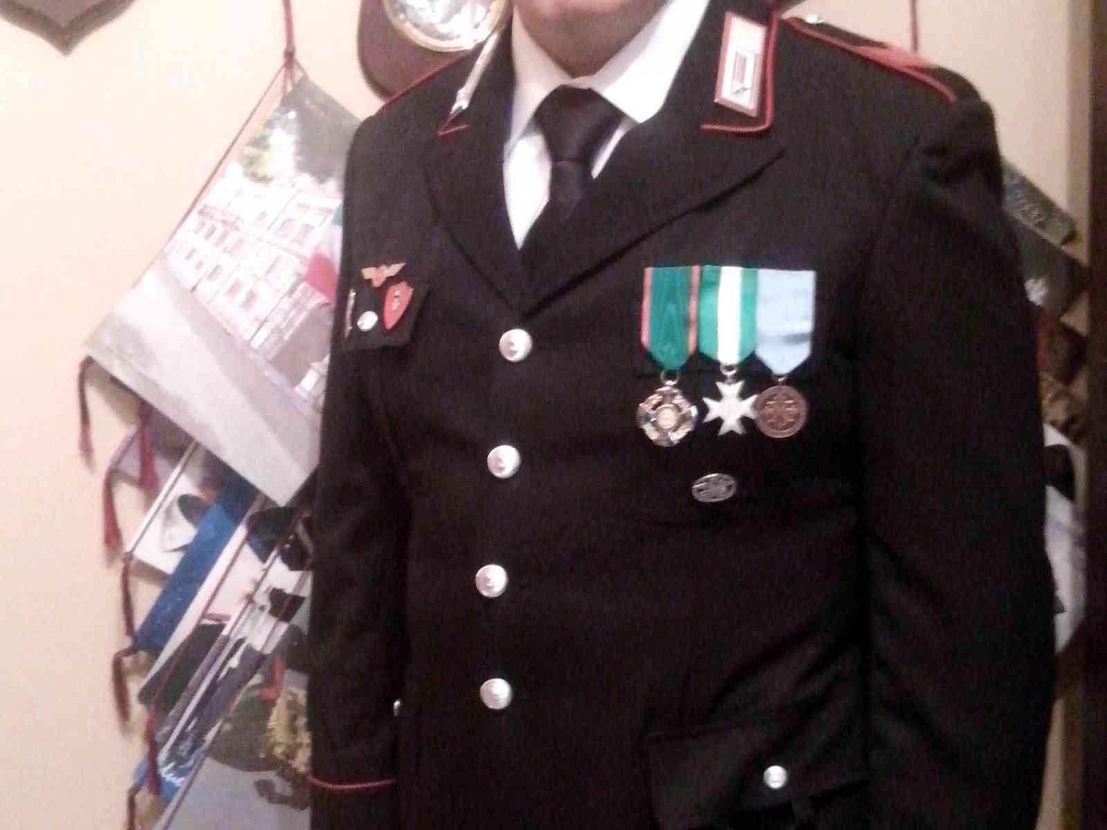 S. Margherita. L'appuntato dei Carabinieri Morreale insignito dell'onorificenza di Cavaliere della Repubblica Italiana