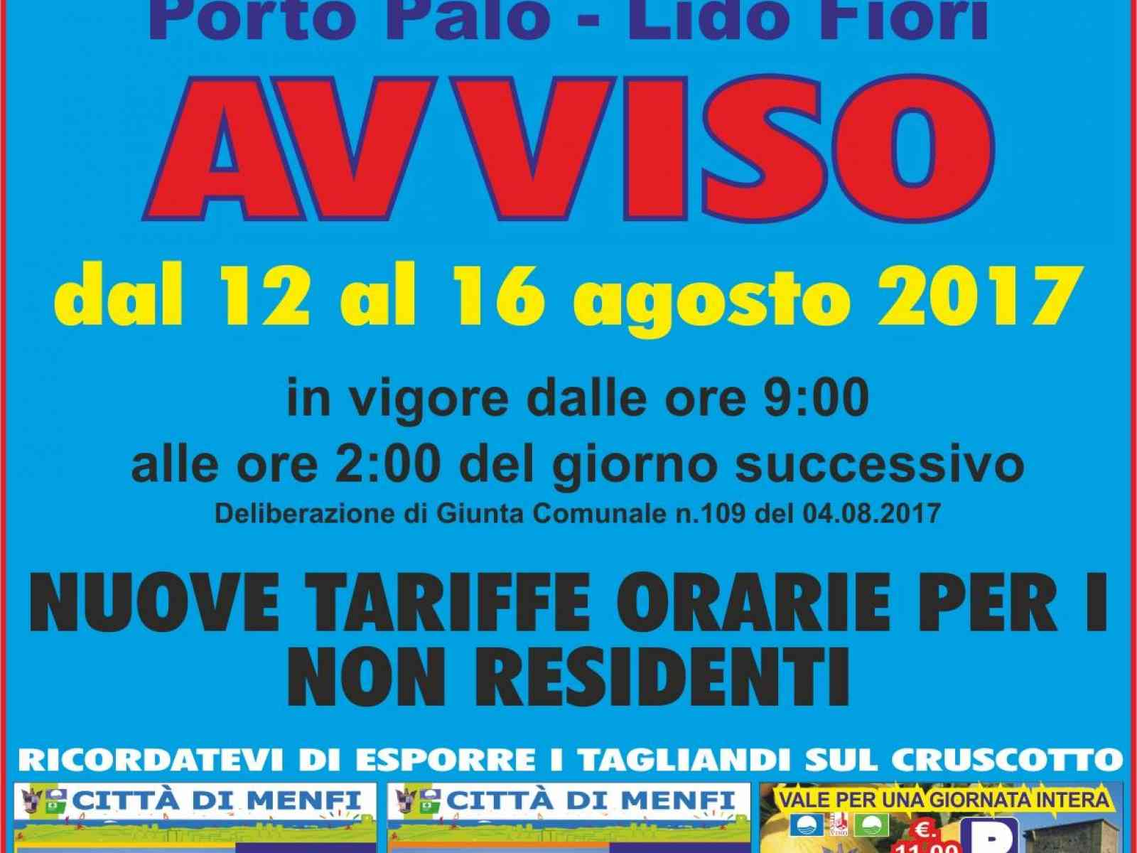 Porto Palo e Fiori, per ferragosto arriva il ticket per i non residenti, ecco i prezzi
