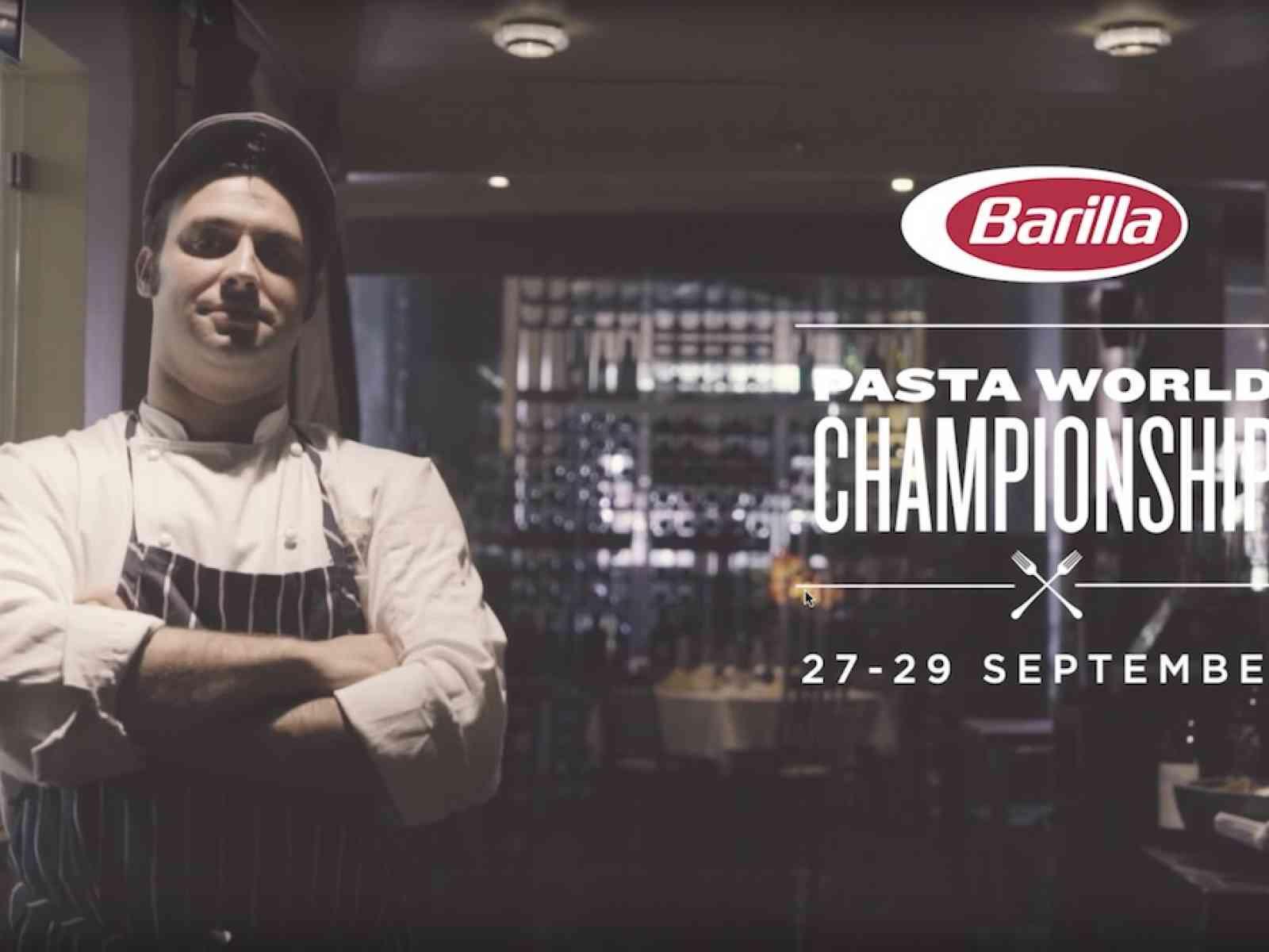 Lo Chef menfitano Accursio Lotà, tra i 3 finalisti del Barilla Pasta World Championship