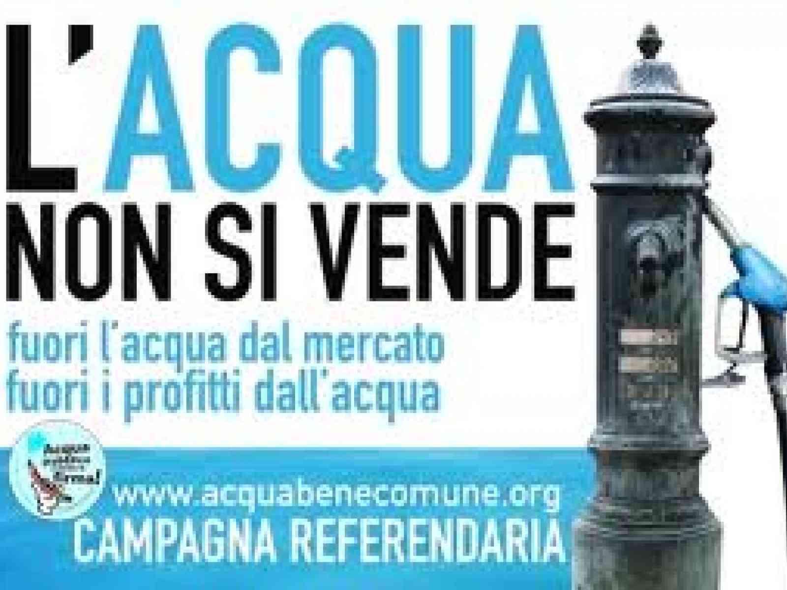 Acqua Pubblica, governo Crocetta battuto in commissione