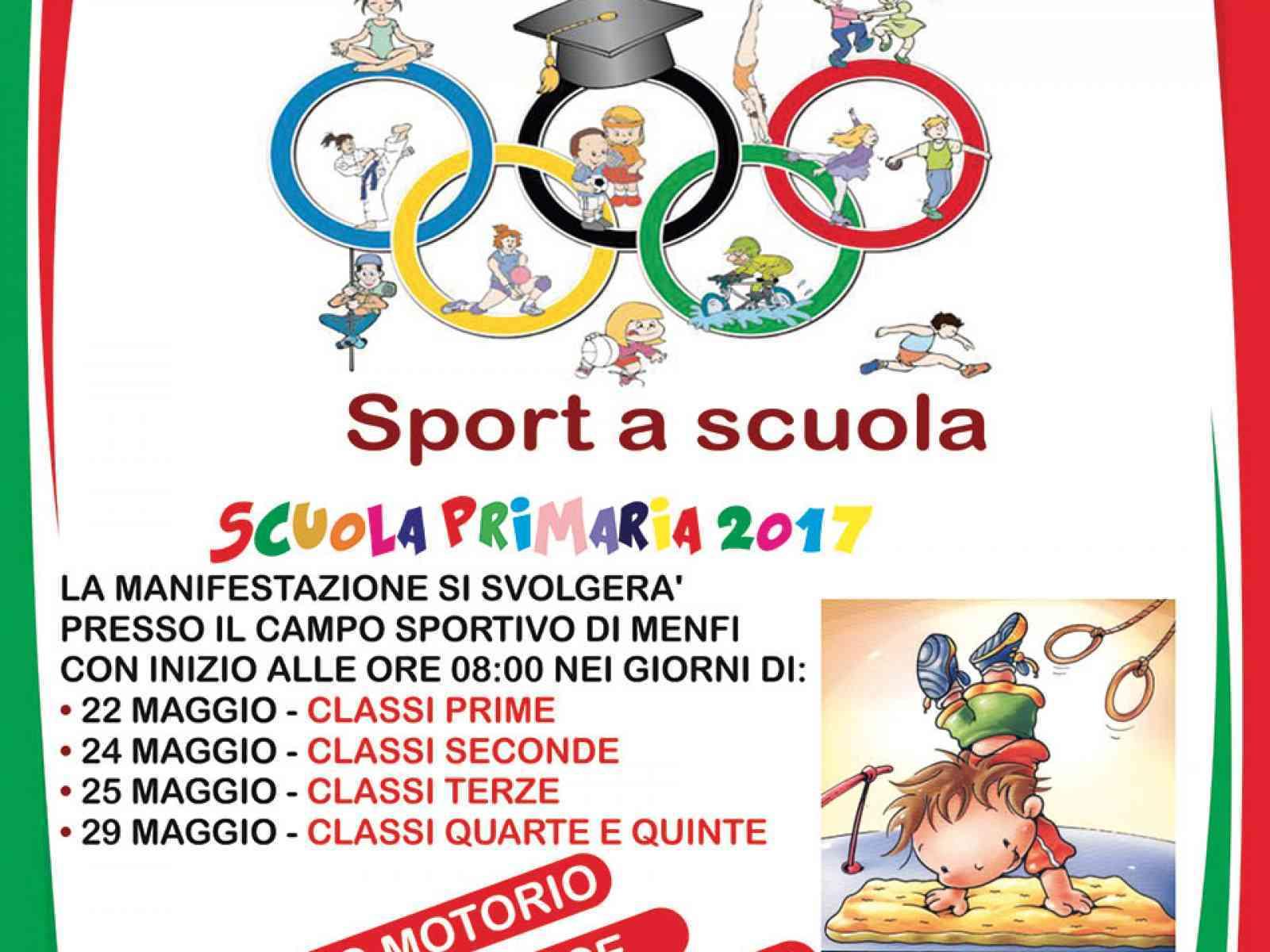 Quattro giorni all'insegna dello sport per 500 alunni della primaria di Menfi