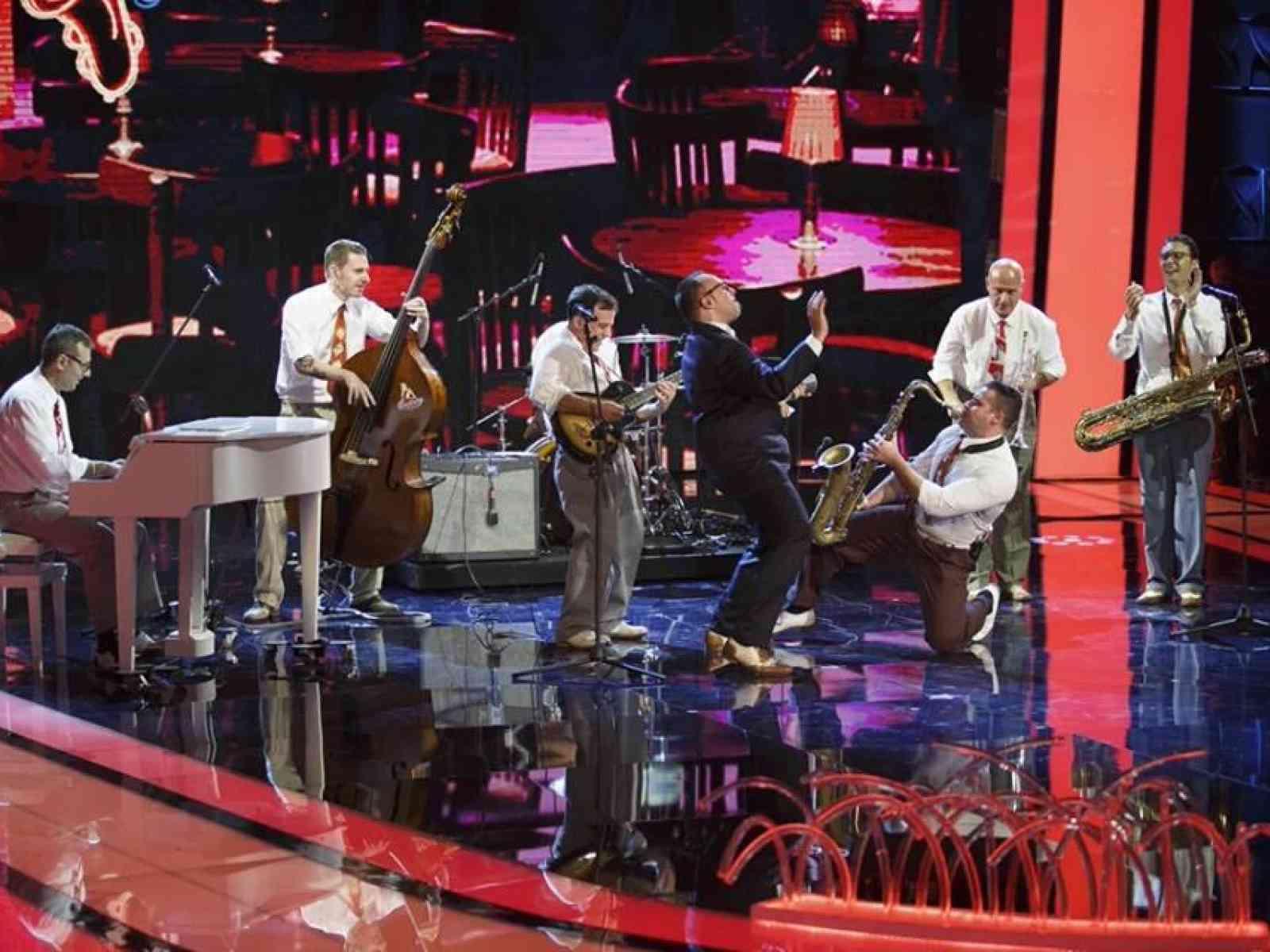Il gruppo siciliano Jumpin' Up in finale a Tù Sì Que Vales 2015